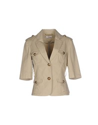 Vdp Sport Suits And Jackets Blazers Women Beige