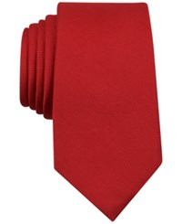 Nautica Men's Truxton Solid Tie Red