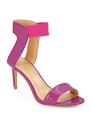 Enzo Angiolini Isadora Patent Leather Sandals Pink