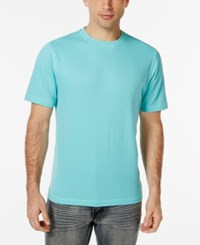 Tasso Elba Men's Big And Tall Performance T Shirt Only At Macy's Tropical Tide