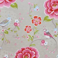 Pip Studio Birds In Paradise Wallpaper 313014 Khaki