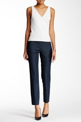 Vince Camuto Side Zip Smart Denim Skinny Jean Blue