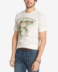 G.H. Bass And Co. Graphic T Shirt Oyster Grey