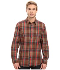 Filson Wildwood Shirt Red Green Brown Men's Clothing