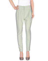 Hoss Intropia Trousers Casual Trousers Women Light Green