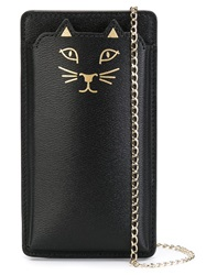 Charlotte Olympia 'Kitty' Iphone 6 Case Black