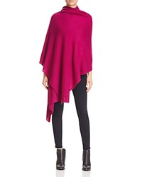 Bloomingdale's C By Cashmere Travel Wrap Boysenberry