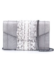 Khirma Eliazov 'Herzog' Clutch Bag Grey