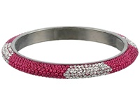 Gypsy Soule Bling Mix Stack Bangle Wide Fuchsia Bracelet Pink