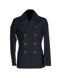 Hogan Coats And Jackets Jackets Men Dark Blue