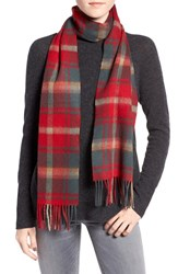 Barbour Women's 'Shilhope' Plaid Wool Scarf