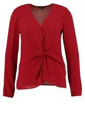 More And More Blouse Vintage Red