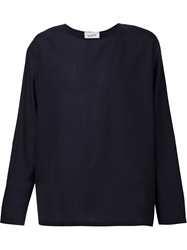 Lemaire Long Sleeve Round Neck Top
