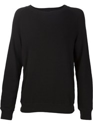 R 13 R13 Side Zip Sweatshirt Black