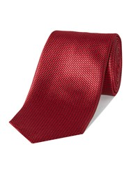 Chester Barrie Patterned Tie Red