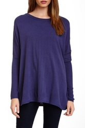 14Th And Union Boxy Pullover Blue