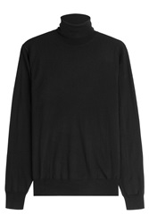 Ralph Lauren Black Label Merino Wool Turtleneck Black