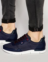 Tommy Hilfiger Tobias Runner Trainers Blue