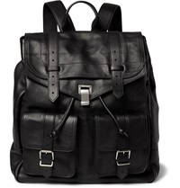 Proenza Schouler Ps1 Extra Large Leather Backpack Black