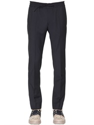 Valentino 18.5Cm Wool And Mohair Blend Pants