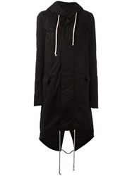 Rick Owens Drkshdw Hooded Parka Black