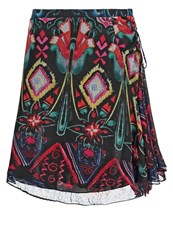 Desigual Camelia Pleated Skirt Black