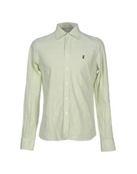 Cooperativa Pescatori Posillipo Shirts Light Green