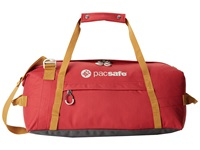 Pacsafe Duffelsafe At45 Anti Theft Carry On Adventure Duffel Chili Khaki Duffel Bags Red