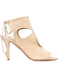 Aquazzura 'Sexy Thing' Sandals Nude And Neutrals