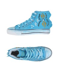 Happiness Footwear High Tops And Trainers Women Azure