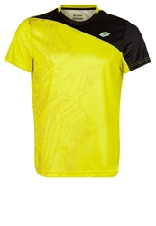Lotto Solista Sports Shirt Yellow Lime