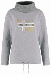 Napapijri Brennero Sweatshirt Medium Grey Melange