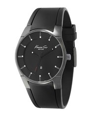 Kenneth Cole Men's Black And Gunmetal Tone Watch