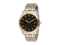 Citizen Au1044 58E Men's Bracelet Two Tone Stainless Steel Analog Watches Silver