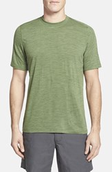 Men's Ibex Regular Fit Overdyed Merino Wool T Shirt