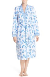 Women's Midnight By Carole Hochman 'Ballet' Quilted Robe