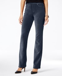 Styleandco. Style Co. Corduroy Pull On Bootcut Pants Only At Macy's Industrial Blue