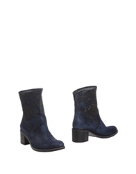 Fru.It Fru. It Ankle Boots Blue