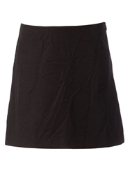 Marni A Line Skirt Black