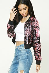 Forever 21 Cropped Sequined Jacket