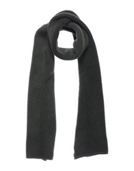 Armani Jeans Oblong Scarves Dark Green