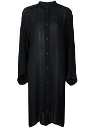 Lost And Found Ria Dunn Round Neck Shirt Dress Black