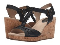 Sperry Dawn Sky Black Women's Wedge Shoes