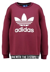 Adidas Originals Sweatshirt Maroon Dark Purple