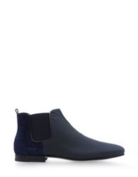 Alberto Guardiani Wallpaper Ankle Boots Dark Blue