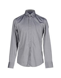 Boss Black Shirts Shirts Men Grey