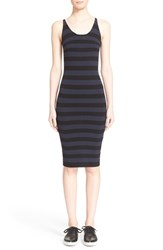 Women's Tomas Maier Stripe Knit Tank Dress