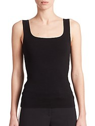Michael Kors Airspun Tank Top Black