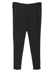 Violeta By Mango Baggy Trousers Black