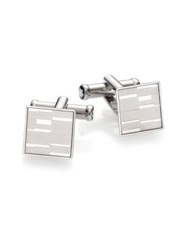 Montblanc Mystery Stainless Steel Cuff Links No Color
